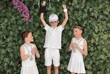 Château Tennis! / Our beautiful collection of all your favourite Tennis wear for children.