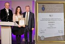 Château Awards / This is very much our boasting board! A look at the awards we are so very proud to have achieved.