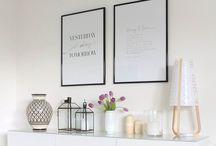 Bilder und Wanddekoration