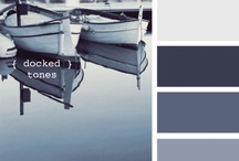 { docked tones } / a collection inspired by { docked tones } inspiration @ http://bit.ly/zRVoyS / by design seeds