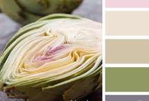 { sliced hues } / a collection inspired by { sliced hues } inspiration @ http://bit.ly/J3VZ5S / by design seeds