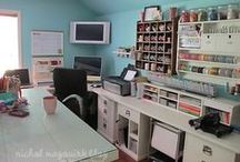 Office Inspiration / Decorating and organizing ideas for home offices. / by Alissa {Fun Finds for Families}