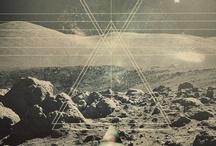 GRAPHIC. / sacred geometry. odd art. and such. / by Claire Ragozzino | VIDYA