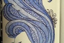 My Zentangle , Art and doodles. / Zentangle  and doodles