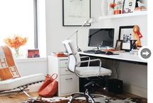 For the office / Home decor ideas and inspiration for the office. Createta gorgeous workspace. / by Jenny Batt