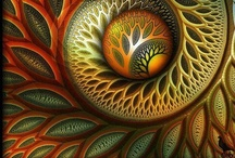 """Fractals / """"To see the World in a grain of Sand,  And Heaven in a wild Flower,  Hold Infinity in the palm of your hand,  And Eternity in an hour."""" - William Blake"""