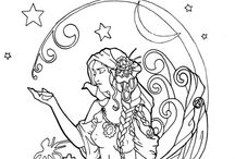 Coloring Pages yoo-hoo! / by Kathleen O'Connor