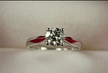 Wedding and Engagement Rings / An inspiration board full of wedding and engagement ring ideas