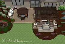 Outside / everything around the House. House, Porch, Patio, Landscaping.....