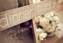 Rustic Wedding Theme Inspiration / Rustic wedding ideas
