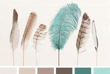 { feathered palette } / by design seeds