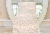 Wedding Cake - Ruffled / Ruffled Wedding Cakes