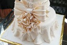 Wedding Cake - Fabric / Fabric Detailed Wedding Cakes
