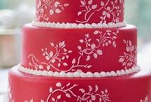 Wedding Cake - Stenciled / Stenciled Wedding Cakes