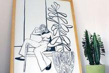 HelloMarine / Illustration, Design & Printmaking