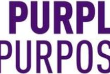 {PurpleWithAPurpose} / Pancreatic Cancer Awareness / by Christine Miles