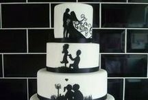 Wedding Cake - Silhouette / Silhouette Wedding Cakes