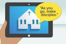 Ère numérique, Églises et Évangile / Réflexions sur le thème de l'Église à l'ère digitale. Pourquoi et comment utiliser les moyens numériques? En tant qu'Église, en tant que chrétien? / by Livia Schnegg
