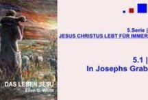5.JESUS CHRISTUS LEBT FÜR IMMER | DAS LEBEN JESU - Ellen G. White - video / Die Auferstehung des gekreuzigten Messias ist das größte Wunder der Geschichte dieses Planeten. Dieses Ereignis fasziniert die anfangs verschreckte Jüngerschar. Krafterfüllt  berichten sie davon, sodass wir nach 2000 Jahren von dieser Begeisterung angesteckt werden.