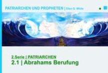 2.PATRIARCHEN | PATRIARCHEN UND PROPHETEN - Ellen G. White - video / Abraham ist der Stammvater der Israeliten. Sein Leben und das seiner unmittelbaren Nachkommen ist eine spannende Zeitreise in den Orient vor 4000 Jahren. Es ist ein Bericht, der uns in Atem hält. Das Geschick ganzer Völker wird durch die Gnade Gottes bestimmt. Die dargestellten Biographien gehören zu den bedeutendsten Zeugnissen der Weltliteratur.