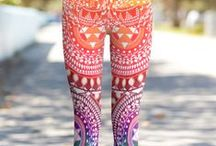 Fun Socks and Leggings / I have an obsessive with crazy patterns. / by Free Candie