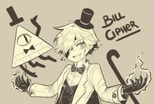 Bill Cipher / Because we all love that sexy one-eyed dorito