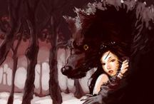 Red Riding Hood / Girls+wolves/wolves