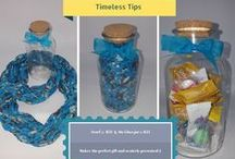 Timeless TIps / Every week we show you what you can do with one of our products.