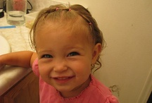 little girl hairstyles / by Christa @ Controlling Craziness