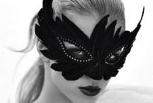 Black Cat Bash: Costume, party, & Decorating Ideas / masquerade & All Hallow's Eve
