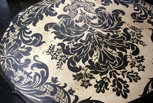 All Things Damask / #damask / by Gabrielle Ann