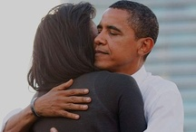 ▲ mr. and mrs. obama / ~ i think they like eachother ~ and i loove the way he looks at her.  / by Ali Bresnahan