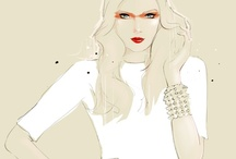 Fashion Illust / by Tetsuya Ito