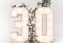 30th are coming... / Ideas for 30th birthday party, perfect also for 40th ;) 30th birthday Cake, 30th birthday decoration