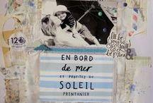 Inspirations Scrap - blog / Elisa P. - scrapbooking art journal - collages - project life