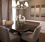 Dining Room Decor and Design Ideas / Ideas for decorating and designing the dining room