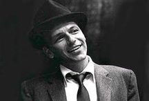 ♫  Frank Sinatra ♫ / his own board / by Ali Bresnahan