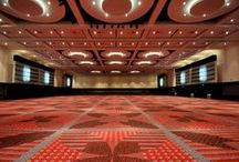 Four Seasons Ballroom / The Four Seasons Ballroom is a 35,000 square foot event space. The room can seat up to 3,500 people for a general session or up to 2,200 for a banquet, social or fundraising event. The ballroom can be divided into smaller sections with the use of removable partitions. With over 13,000 square feet of pre-function space, the Four Seasons Ballroom provides a great area for registration or a silent auction.