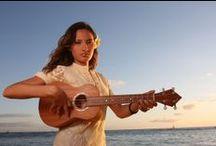 ♫  Taimane Gardner ♫ / Hawaiian girl, fantastic ukulele virtuoso, amazing seductive entertainer, must see/hear  / by Ali Bresnahan