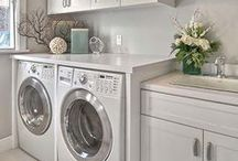 Laundry Room Decor and Design / Laundry room design and decor ideas
