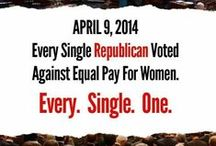 * GOP: Women's Issues / Republican views on equal pay, abortion, birth control / by Ali Bresnahan