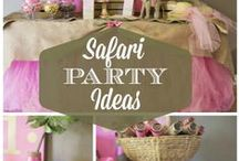 Safari Party / safari party ideas