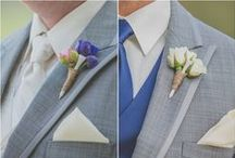 Grooms & Guys / Suits and ties, bow ties and boutonnieres, cuff links and tie clips, pocket squares and funky socks all your groom and his guys.  / by Weddings in Houston