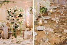 Elegant Decor / Rustic, Vintage, Modern, Classic, Metallic, Southern, Art Deco, Retro, Eclectic, and Color Theme Wedding Decor