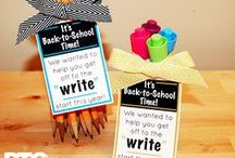 Back to School / Ideas for PTOs and PTAs to help families and teachers kick off the school year!