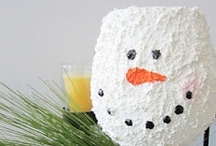 Christmas/Winter / Inside/Outside decorations......ideas......festive food