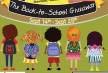 Back-to-School Giveaway / MilitaryFamily.com presents our Great American Road Trip Giveaway! Going on from 9.14.12 until 9.28.12! List of all our featured products and back-to-school inspired photos and tips!