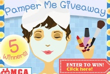 'Pamper Me' Giveaway / MilitaryFamily.com presents our 'Pamper Me' Giveaway for all military spouses, moms and wives! Listing all beauty box products in our giveaway and sponsors! While providing tips and tricks for relaxation & beauty! Going on 10/8-10/29