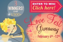 'Love Fest' Giveaway / Let MilitaryFamily.com set you up with the ultimate date night this Valentine's Day! Also providing pins related to Valentine's Day! Giveaway from Feb 4th- 12th