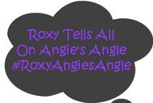 Roxy guest posting on Angie's Angle / Roxy, the dog, likes to take over the blog every once in awhile and share with your her personal thoughts.  These are her thoughts and her fun! #RoxyAngiesAngle #dogs #dogswhoblog